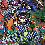 Mosaic of a Woman