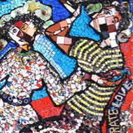 Mosaic of People
